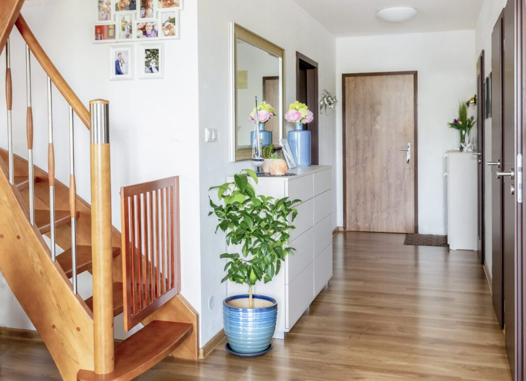 The hallway is a throughway, and may not be an ideal place for your puppy's crate.