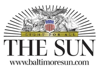 Ali was interviewed for the Baltimore Sun about her awards and achievements with Rebarkable