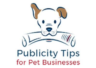 Quoted in on the Publicity Tips For Pet Businesses blog about how to cope with critics
